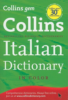 Collins Gem Italian Dictionary By Harpercollins Publishers Ltd. (COR)